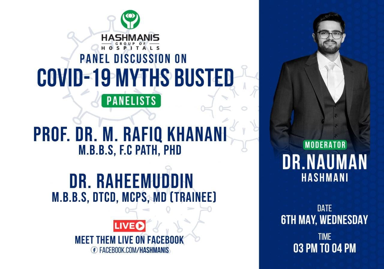 Panel Discussion on Covid-19 Myths Busted