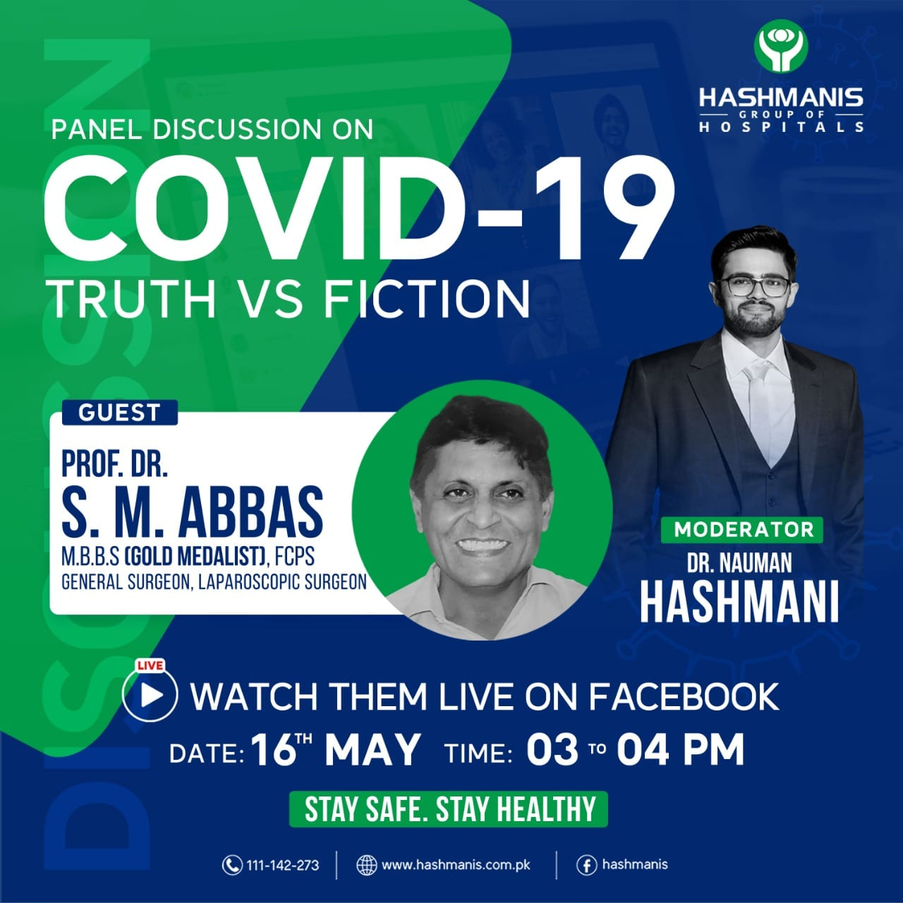 Panel Discussion on Covid-19 Truth vs Fiction