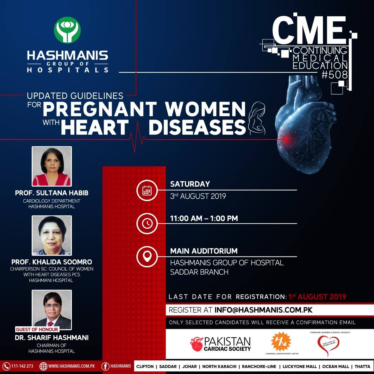 Pregnant Women With Heart Diseases