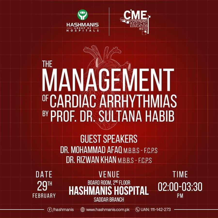 The Management of Cardiac Arrhythmias
